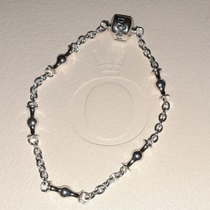 Authentic Pandora Clip Station Bracelet